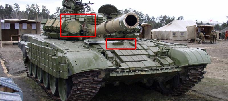 мод который показывает оборудование на танке